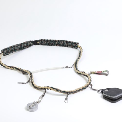 Fishing creel with strap