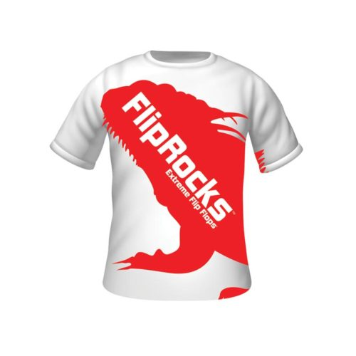 fliprocks t-shirt red