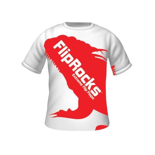 fliprocks t-shirt red
